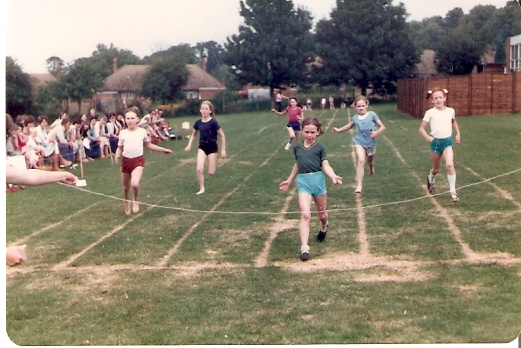 Sports day at Wilburton school