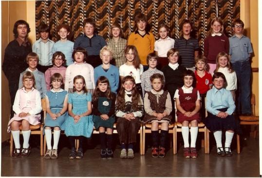 Wilburton school class 3