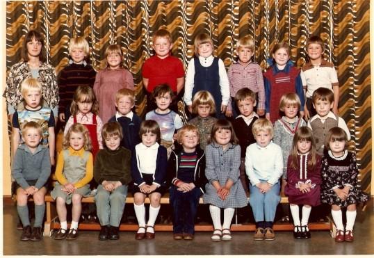 Wilburton school class 1