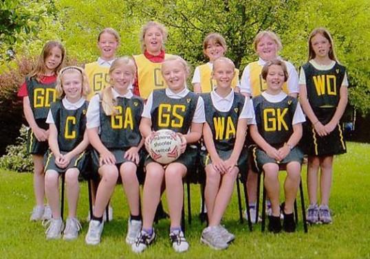 Wilburton net-ball team