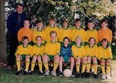 Wilburton school football team