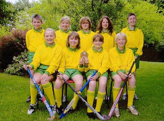 Wilburton school hockey team