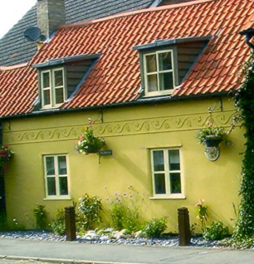 This house is now called Fen Cottage but was first known as the Crooked Cottage