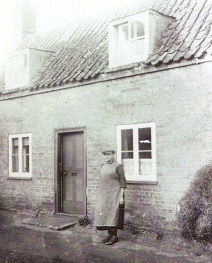 This house was the first named the crooked cottage