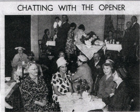 The meeting of the Baptist Chapel women