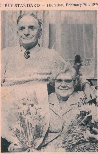 Mr & Mrs Setchell's Golden Wedding.