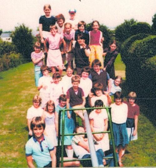 Wilburton school children enjoying a day out