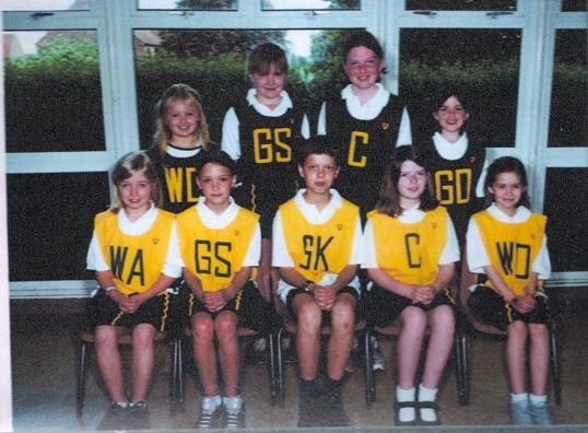 Wilburton  netball team year 5