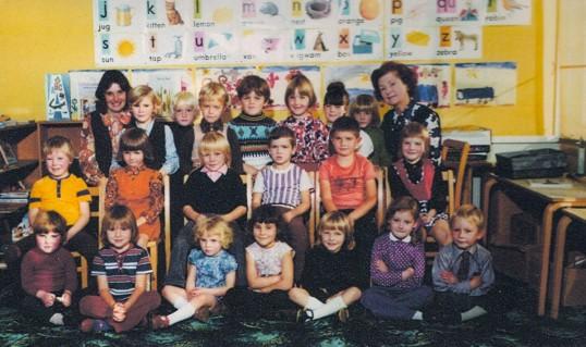 Another group of children at Wilburton school