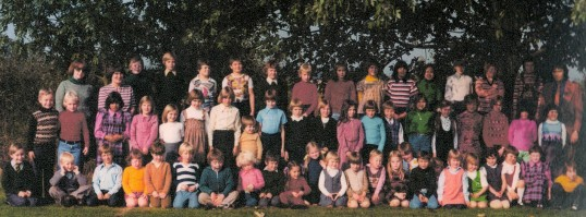 The Wilburton school group  about 1970