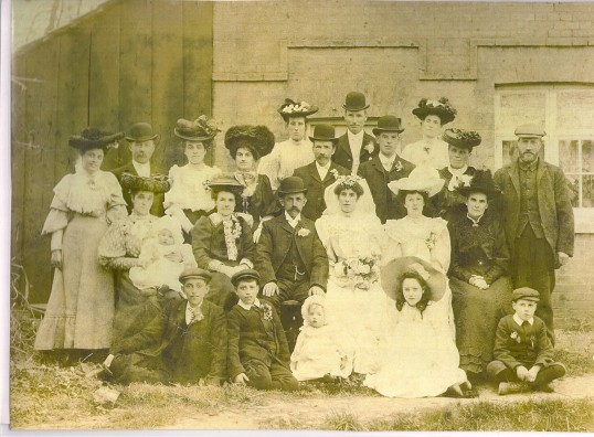 Wilburton Wedding group.