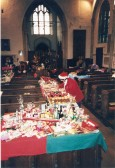 Getting the Church ready for Christmas celebrations