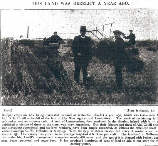 Wilburton land taken over for the war effort