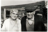 Mr George Wallice (church warden) & Jessy Wallice.  Lived in houses opposite the church