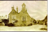 The old school Wilburton in the  late 1800s