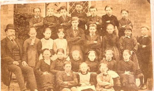 More photos of wilburton school children in the late 1800s