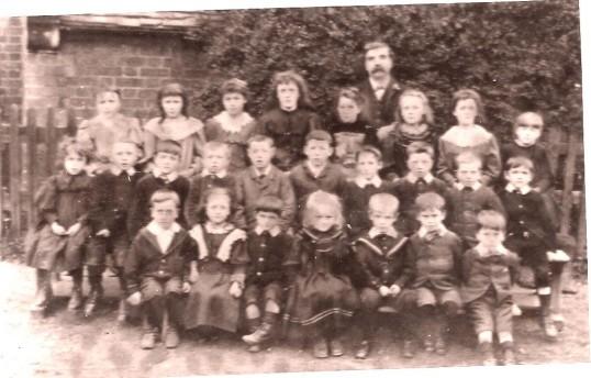 A group of Wilburton school children