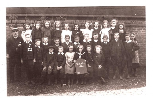 Wilburton certainly had a large number of school children in the past