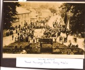 Wilburton Sunday feast parade in the early 1930s