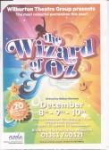 Advertising poster for Wilburtons Christmas Pantomime