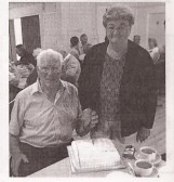 A photo of Pearl and Gordon (Pop) Day on their golden wedding day