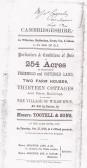 Bill of sale of Farm property in Wilburton