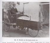 A Home made car built by Mr Everitt.