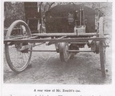 The reverse view of the car built by Mr E Everitt