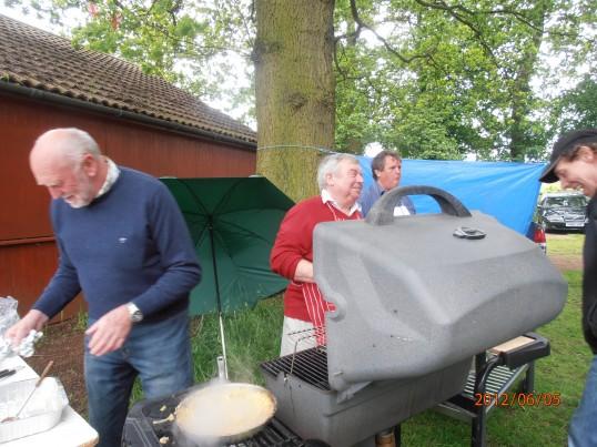 Wilburton Jubilee celebrations  barbacue