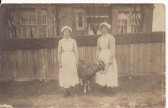 Mabel Denny & Edie Denny of Wilburton when they were in service