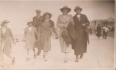 Mr Bill Smith & Mrs Mabel Smith with their family on another day at the seaside