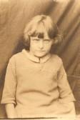 Joan Vessey as a child (Wilburton)