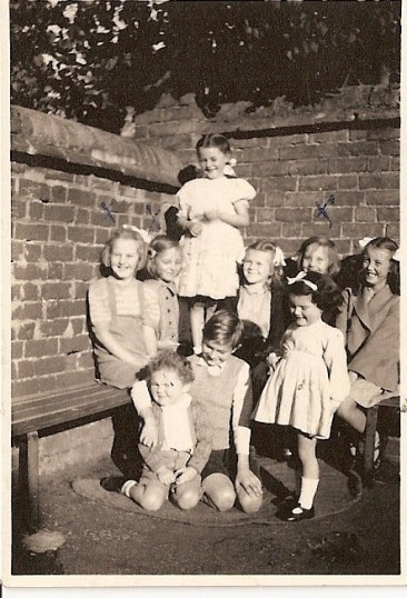Ann Coverdale's Birthday Party in Old School Playground