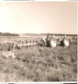 A Doe 130 - Keith Furness, agricultural contractor ploughing.