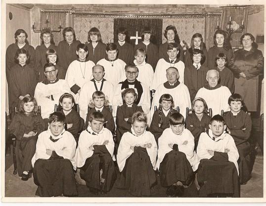 Wilburton church choir