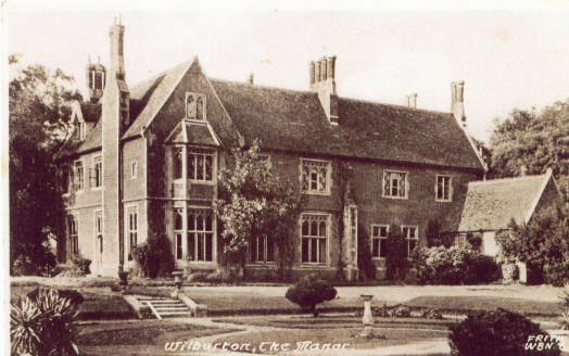 The old manor house Wilburton occupied by the Pell family
