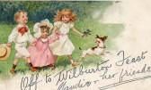 Wilburton post card sert to Maud Sulman