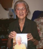 100th Birthday of  lady who was born in Wilburton .