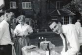 Wilburton garden fete opened by a celebrity