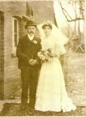 Wilburton wedding, Fred Sharp`s parents.