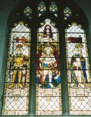 War memorial window, Wilburton Church, unveiled and dedicated Sunday July 3rd 1921.