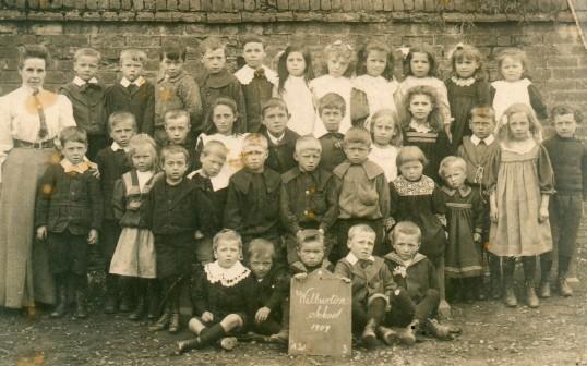 Wilburton School group