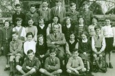 Wilburton School group. Teacher- Mr. Albert Gothard.