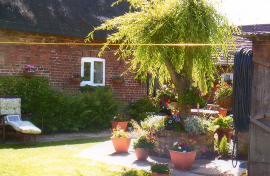 Wilburton open gardens for the youthclub funds