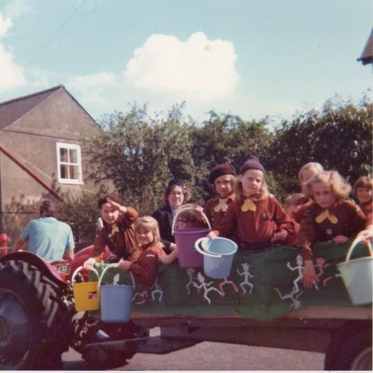 Wilburton Feast Parade 1970