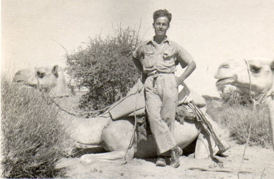 Harold Talbot of Wilburton in the Sudan.