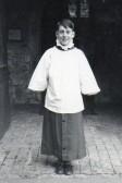 Wilburton Church choir boy