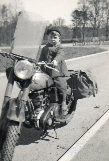 Boy on a bike, Berristed Close Wilburton.