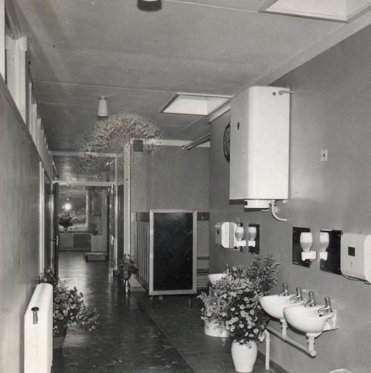 Hallway of Wilburton School Carpond Lane