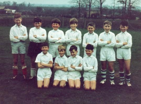 Wilburton School football team